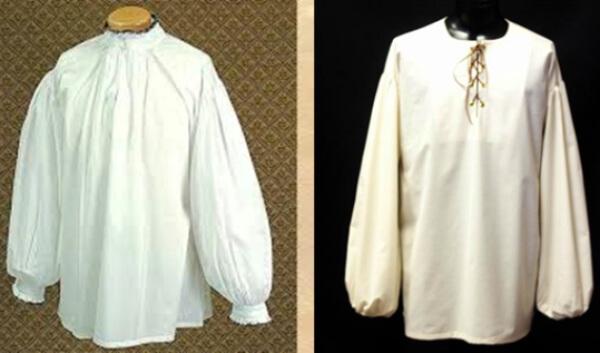 Historia- camisa- siglo- XIX