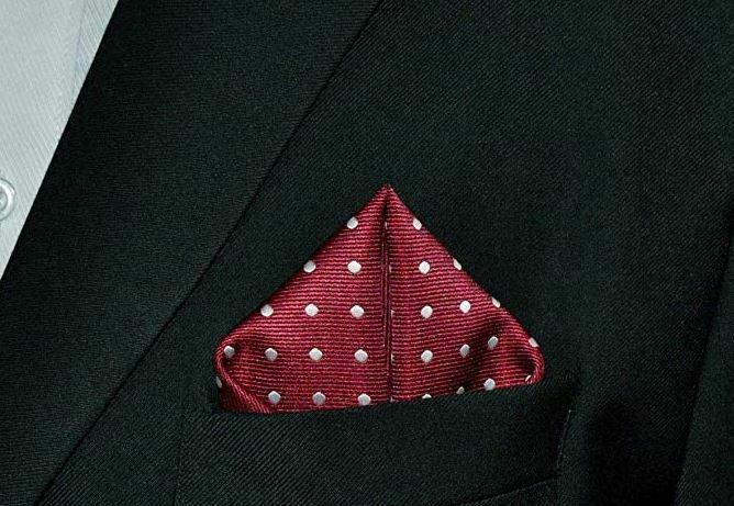 Pañuelo de bolsillo de seda